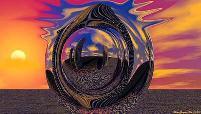 Calgary Expansion Art Print by Wayne Bonney