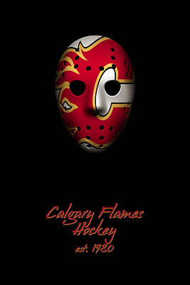 Photograph - Calgary Flames Established by Joe Hamilton