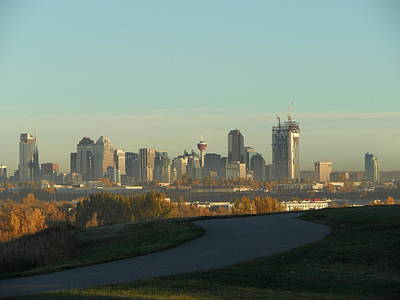 Photograph - Calgary Rising by Mark Lehar