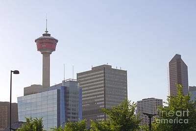 Photograph - Calgary Tower 3 by Donna L Munro