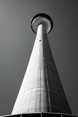Photograph - Calgary Tower From Base by John McArthur