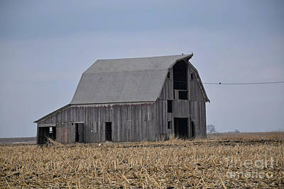 Photograph - Calhoun County Barn by Kathy M Krause