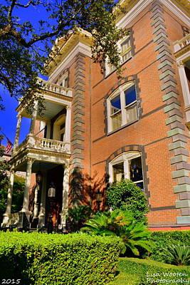 Photograph - Calhoun Mansion Charleston Sc by Lisa Wooten