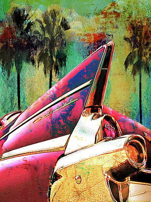 Digital Art - Cali Dreamin' by Greg Sharpe