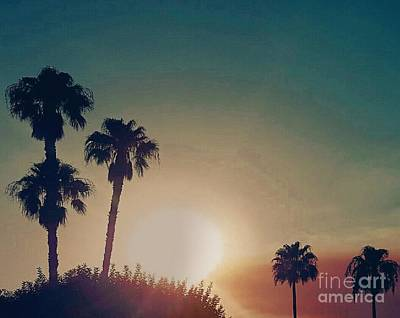 Photograph - Cali Sun by Angela J Wright