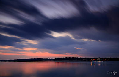Calibogue Sound After Dark Art Print by Phill Doherty