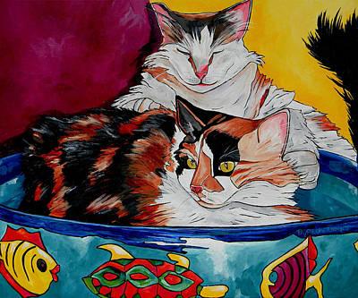 Calico And Et Art Print by Patti Schermerhorn