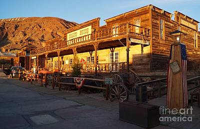 Western Drawing - Calico Ghost Town In California by Timea Mazug