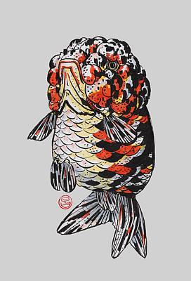 Calico Kirin Ranchu Print by Shih Chang Yang