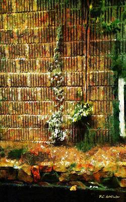 Painting - Calico Wall by RC deWinter