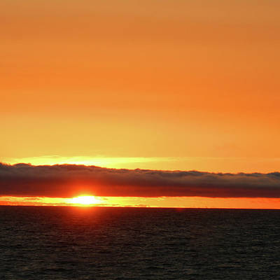 Photograph - Calif Sunset March 2011 by Ernie Echols