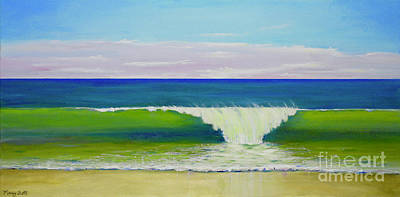Painting - Califia Beach by Mary Scott