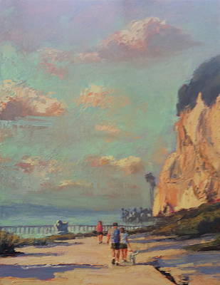 Painting - Califia Stroll by Kathleen Strukoff