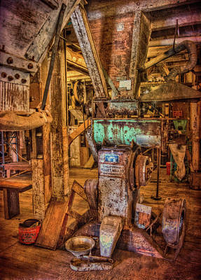 Photograph - California Pellet Mill Co by Thom Zehrfeld