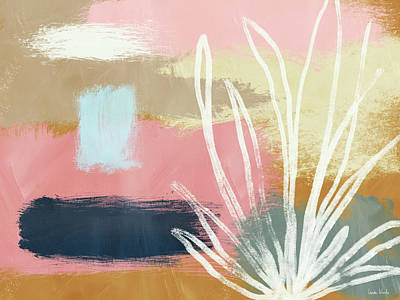 Desert Plants Mixed Media - California Abstract- Art By Linda Woods by Linda Woods
