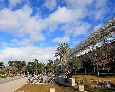 Renzo Piano Photograph - California Academy Of Sciences by Wingsdomain Art and Photography