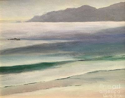 Painting - California Beach by Claire Gagnon