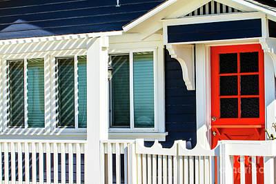 Photograph - California Beach Cottage by Ben Graham