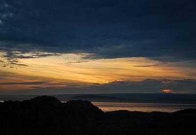 Photograph - California Beach Sand Dunes Sunset by Matt Harang