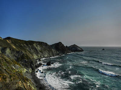 Photograph - California - Big Sur 008 by Lance Vaughn