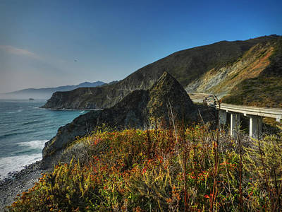 California - Big Sur 011 Art Print by Lance Vaughn