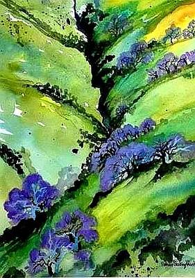 Painting - California Black Oak by Esther Woods