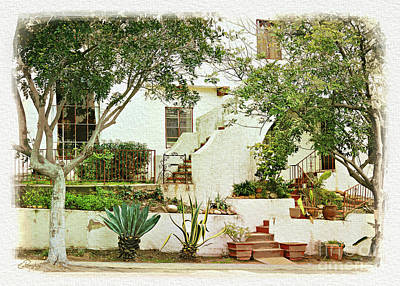 Photograph - California - City Front Yard by Gabriele Pomykaj