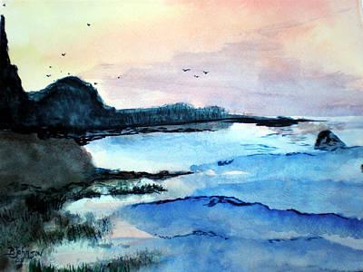 Painting - California Coast by Beverly Johnson