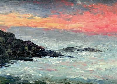 California Coast Art Print by Gail Kirtz