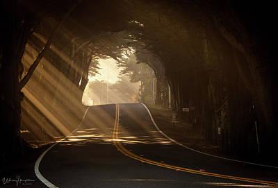 Photograph - California Coast Highway - 8417,s by Wally Hampton