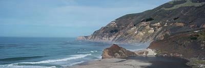 Pacific Coast Highway Wall Art - Photograph - California Coast Panorama by Steve Gadomski