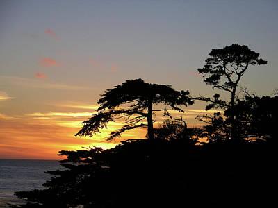 California Coastal Sunset Art Print