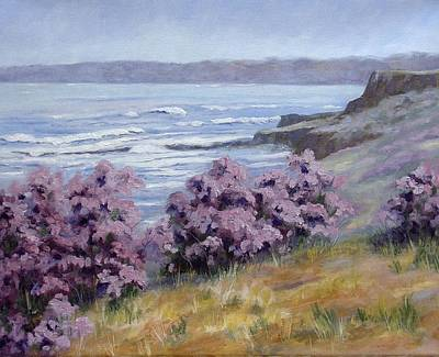 Painting - California Coastline by Debra Mickelson