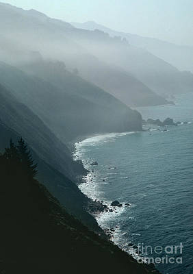 Sea Birds Photograph - California Coastline by Unknown