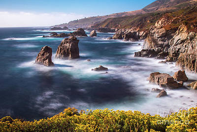 Photograph - California Coastline  by Vincent Bonafede