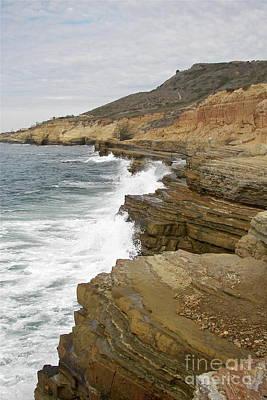 Photograph - California Colorful Coast by Carol  Bradley