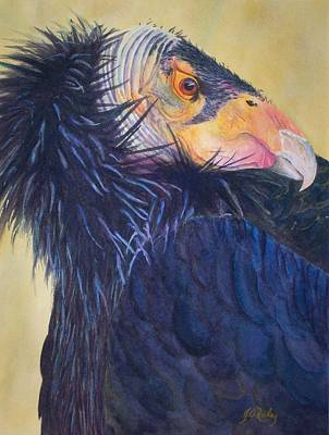 California Condor Original by Judy Raley
