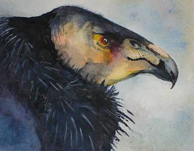 Condor Painting - California Condor by Sonja Guard