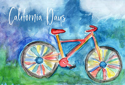 Santa Monica Wall Art - Painting - California Days - Art By Linda Woods by Linda Woods