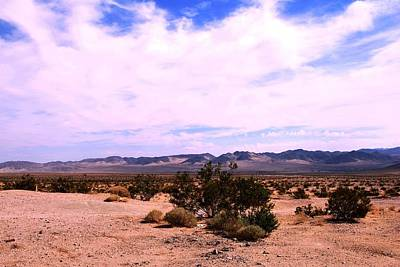 Photograph - California Desert Adventure Landscape And Mountain View by Matt Harang