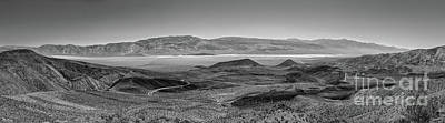 Photograph - California Desert - Hot But Not Humid Death Valley Bw by Dan Carmichael