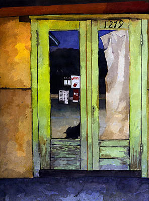 Painting - California Doorway by Rick Mosher