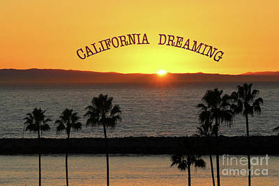 Photograph - California Dreaming by Cheryl Del Toro