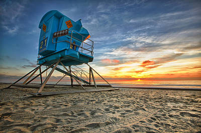 Beach Photograph - California Dreaming by Larry Marshall
