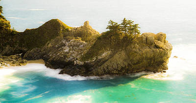 Big Sur Beach Photograph - California Finger by Peter Irwindale