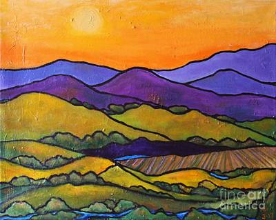 Painting - California Foothills by Chaline Ouellet