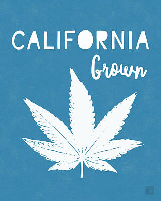 Digital Art - California Grown Cannabis- Art By Linda Woods by Linda Woods