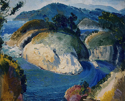 Painting - California Headlands by George Bellows
