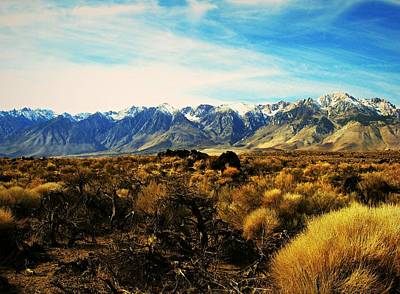 Digital Art - California High Sierras 1 by Max DeBeeson