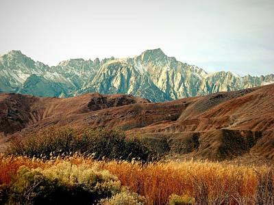 Digital Art - California High Sierras 2 by Max DeBeeson